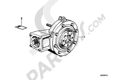 Bmw K75 K75 (K569) REAR-AXLE-DRIVE