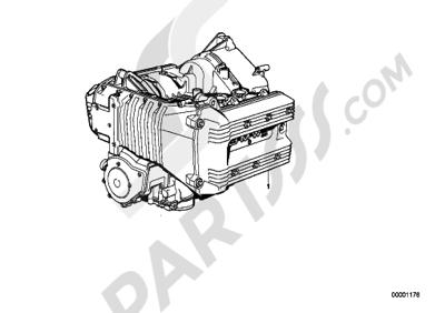 Bmw K75 K75 (K569) SHORT ENGINE