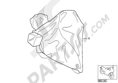Bmw K75 K75 (K569) TARPAULIN