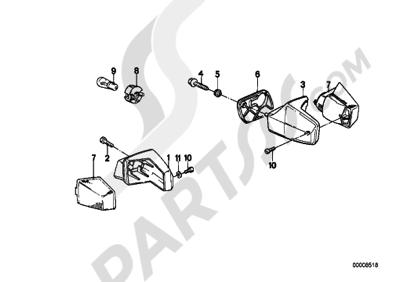 Bmw K75 K75 (K569) TURN INDICATOR