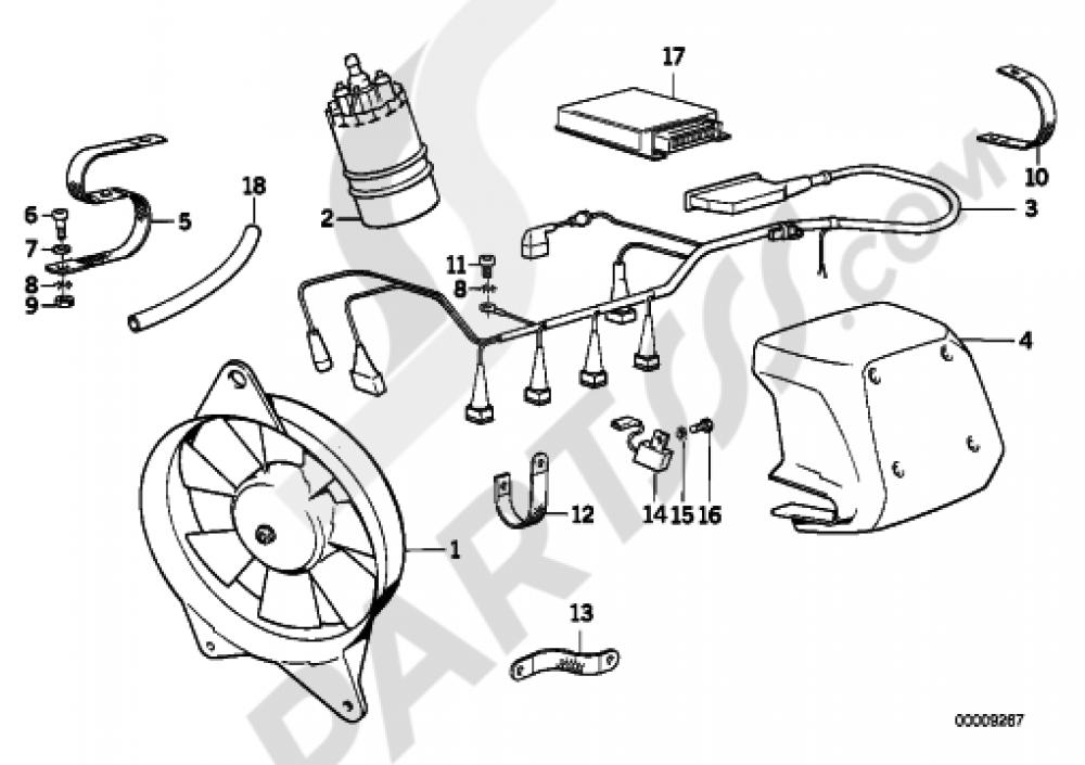 bmw k75 wiring diagram database Sump K100 BMW K75 Motorcycle anti interference kit bmw k75 k75 k569 bmw k1200r