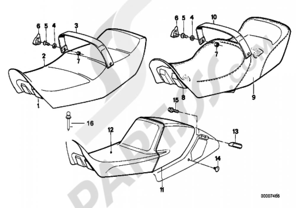 bmw k75 wiring diagram database K75 Sidecar bench seat bmw k75 k75 k569 bmw r1200rt