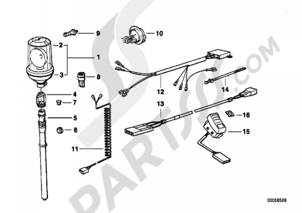 bmw k75 wiring diagram database 1993 BMW K75 priority vehicle light bmw k75 k75 k569 1994 bmw k75