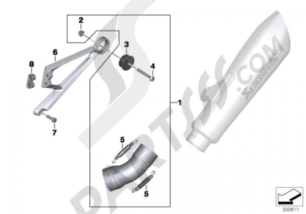 BMW R nine T Steering Stem Nut Socket All Models