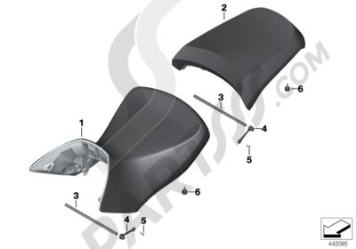 Bmw R1200GS R1200GS 2005-2007 (K25) BENCH SEAT