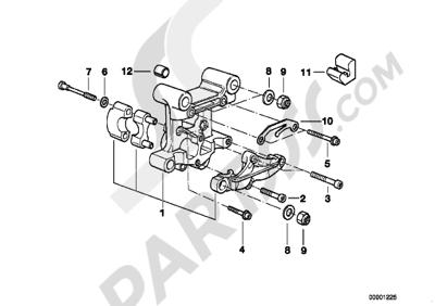 Bmw R1200GS R1200GS 2005-2007 (K25) CAMSHAFT SUPPORTING BRACKET