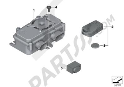 Bmw R1200GS R1200GS 2005-2007 (K25) CONTROL MODULE FOR RDC - DWARDC