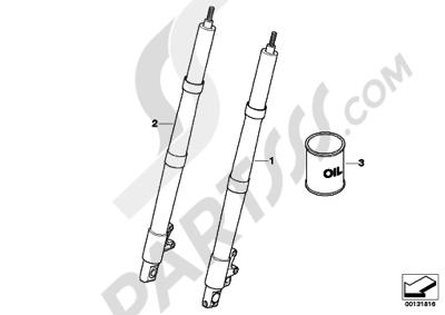 Bmw R1200GS R1200GS 2005-2007 (K25) FORK LEG