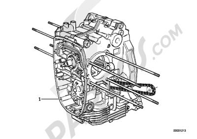 Bmw R1200GS R1200GS 2005-2007 (K25) SHORT ENGINE