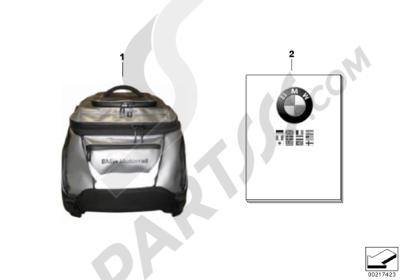 Bmw R1200GS R1200GS 2005-2007 (K25) SOFTBAG 2, SMALL