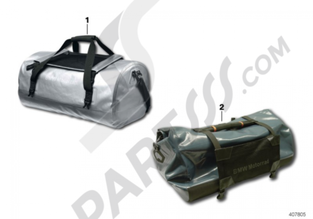 DUFFLE BAG Bmw R1200GS R1200GS 2005-2007 (K25)