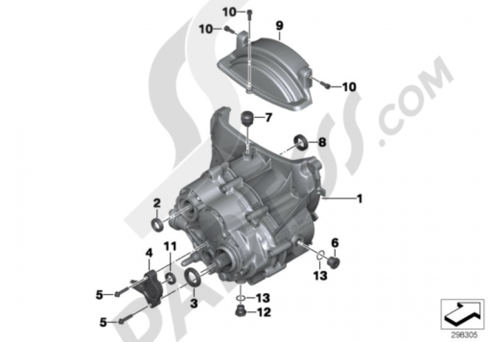 MANUAL TRANSMISSION Bmw R1200GS R1200GS 2005-2007 (K25)