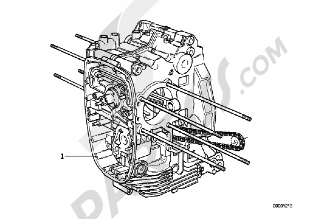 SHORT ENGINE Bmw R1200GS R1200GS 2005-2007 (K25)