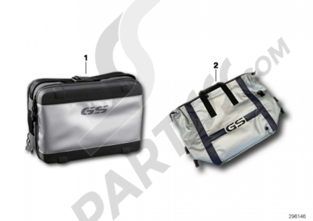 SLIPCASE FOR LUGGAGETOP CASE Bmw R1200GS R1200GS 2005-2007 (K25)