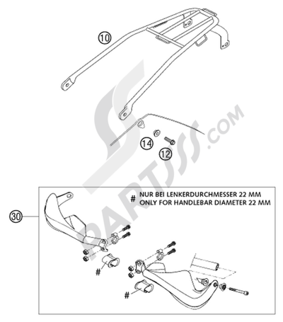 KTM 125 SX 2002 EU Dissassembly sheet  Purchase genuine spare parts