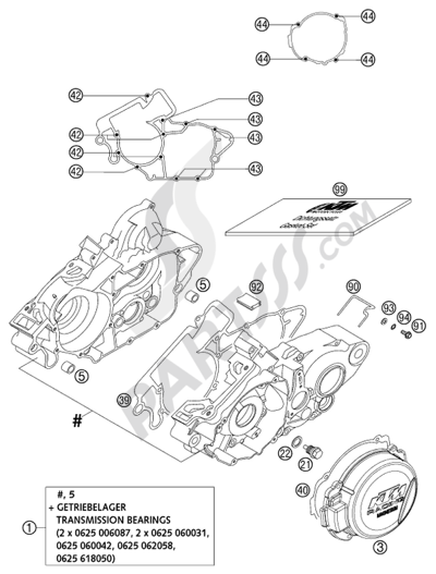 2002 ktm engine diagram