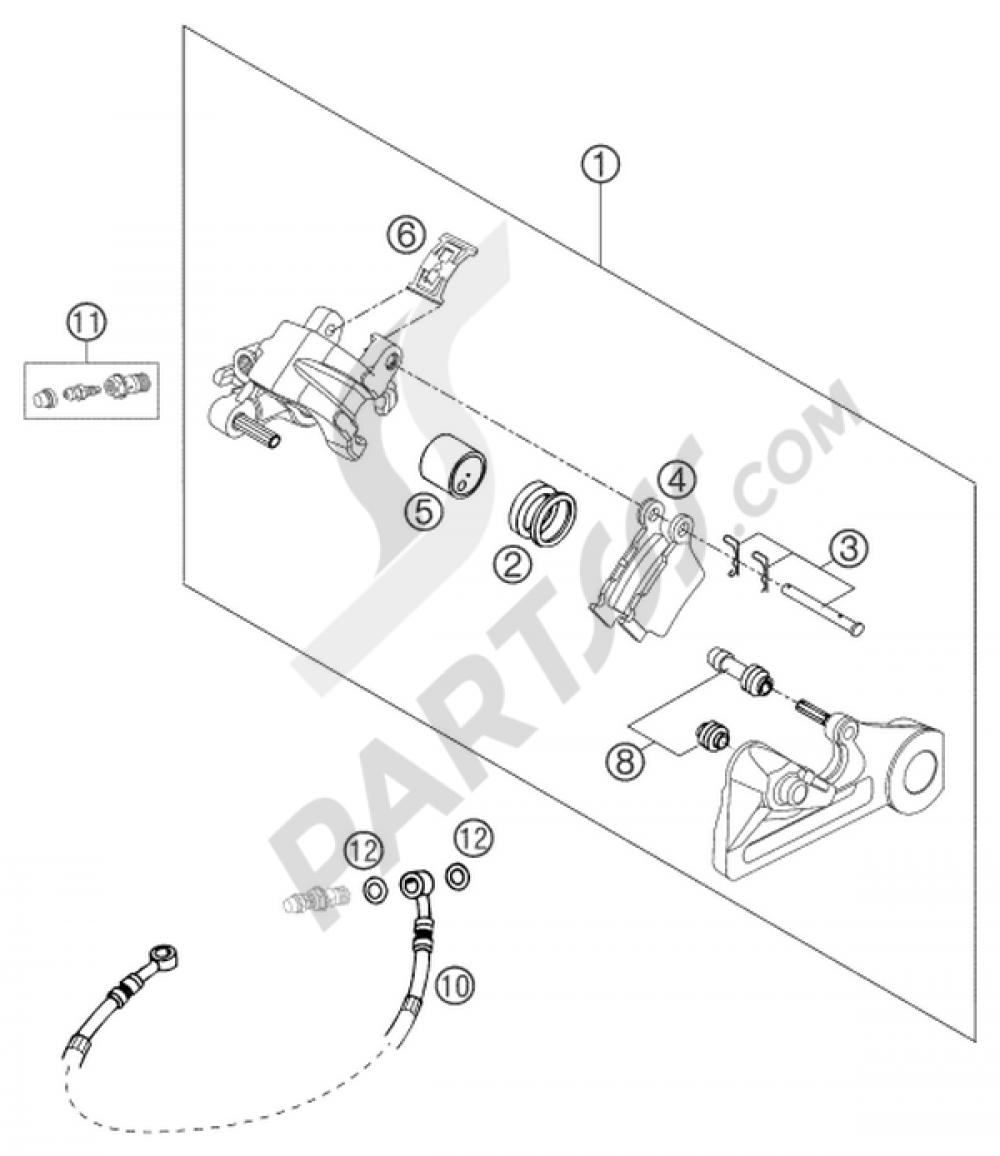 2003 Ktm 125 Sx Fuel Line Diagram Electrical Wiring Diagrams Brake Caliper Rear Brembo 26mm Eu Hp