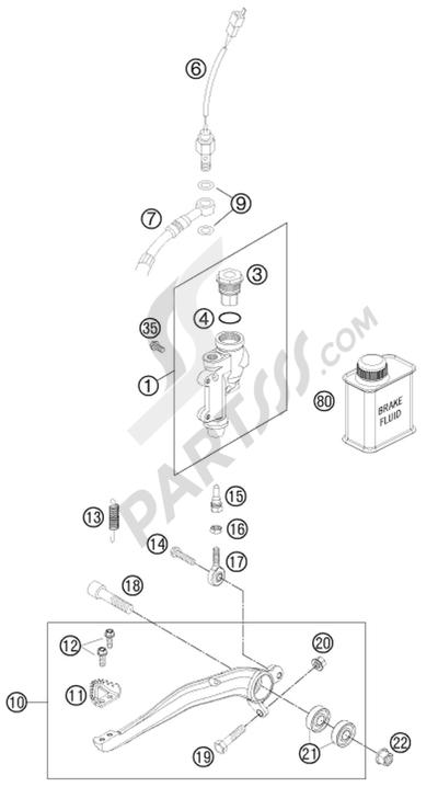 moteur de recherche des pi u00e8ces de rechange ktm  mod u00e8le