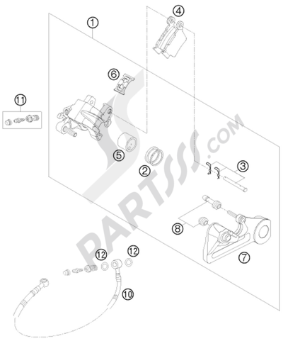Ktm 450 Exc Factory Edit 2011 Eu Dissassembly Sheet Purchase