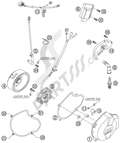 Wiring Diagram Yamaha Enticer in addition 1994 Honda Magna Vf750c Wiring Diagram besides Signal Light Flasher Wiring Diagram further Honda Shadow Vt1100 Wiring Diagram And Electrical System Troubleshooting 85 95 together with Air Ride Wiring Diagram For Harley. on motorcycle headlight wiring harness