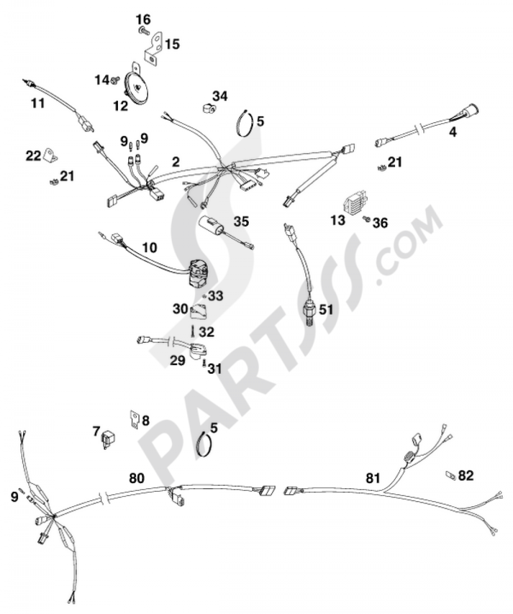 Wiring Harness Egs 125