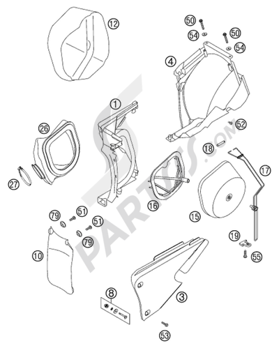 Parts Of Carborator