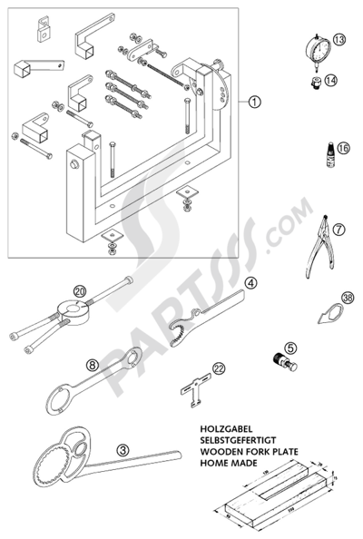 2001 Ktm Wiring Diagram
