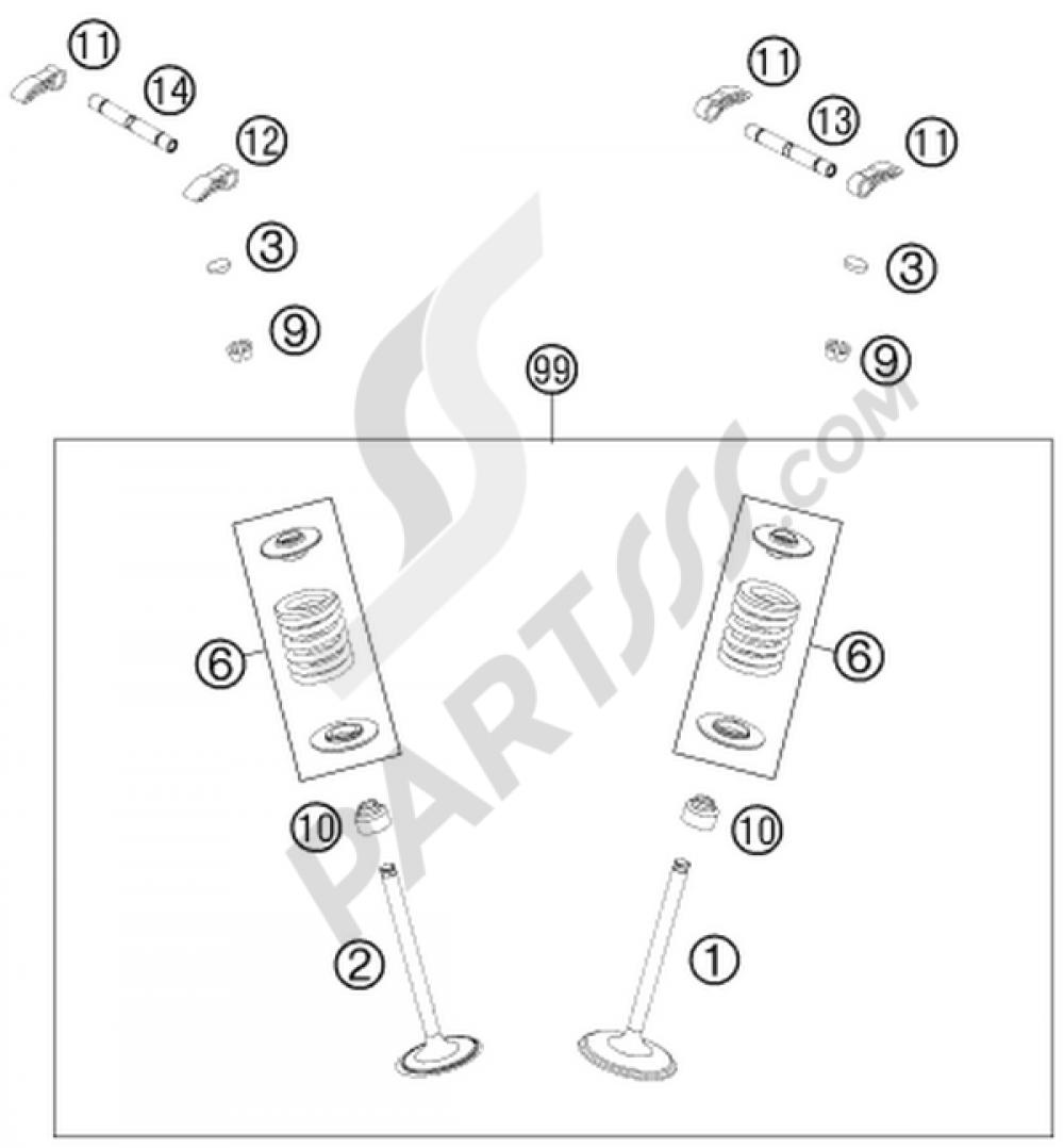 Valve Drive Ktm 450 Smr 2014 Eu Wire Schematic