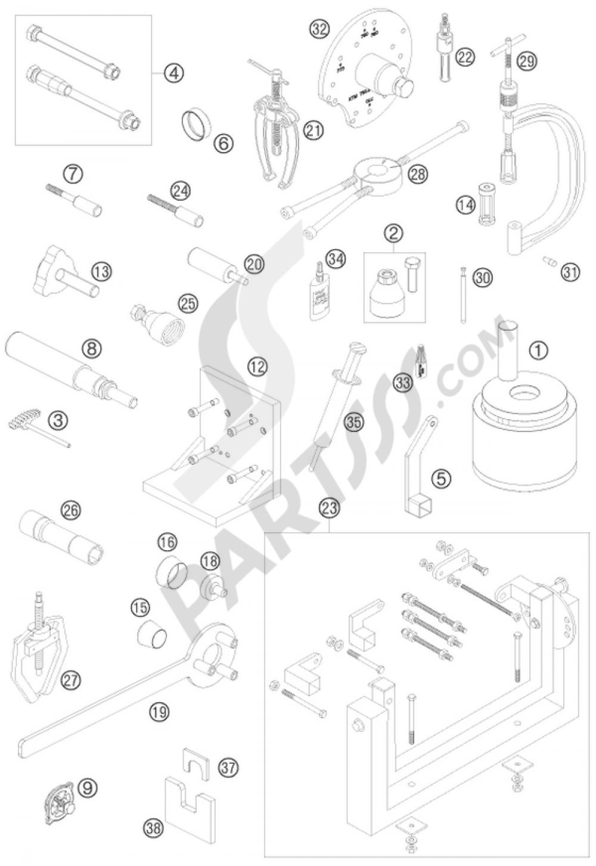 Ktm Gear Segment Tool