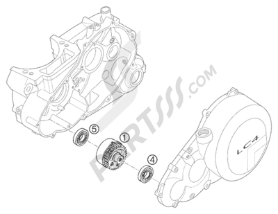 Ktm 640 Lc4 E S Moto Prestige 2000 Eu Dissassembly Sheet Purchase