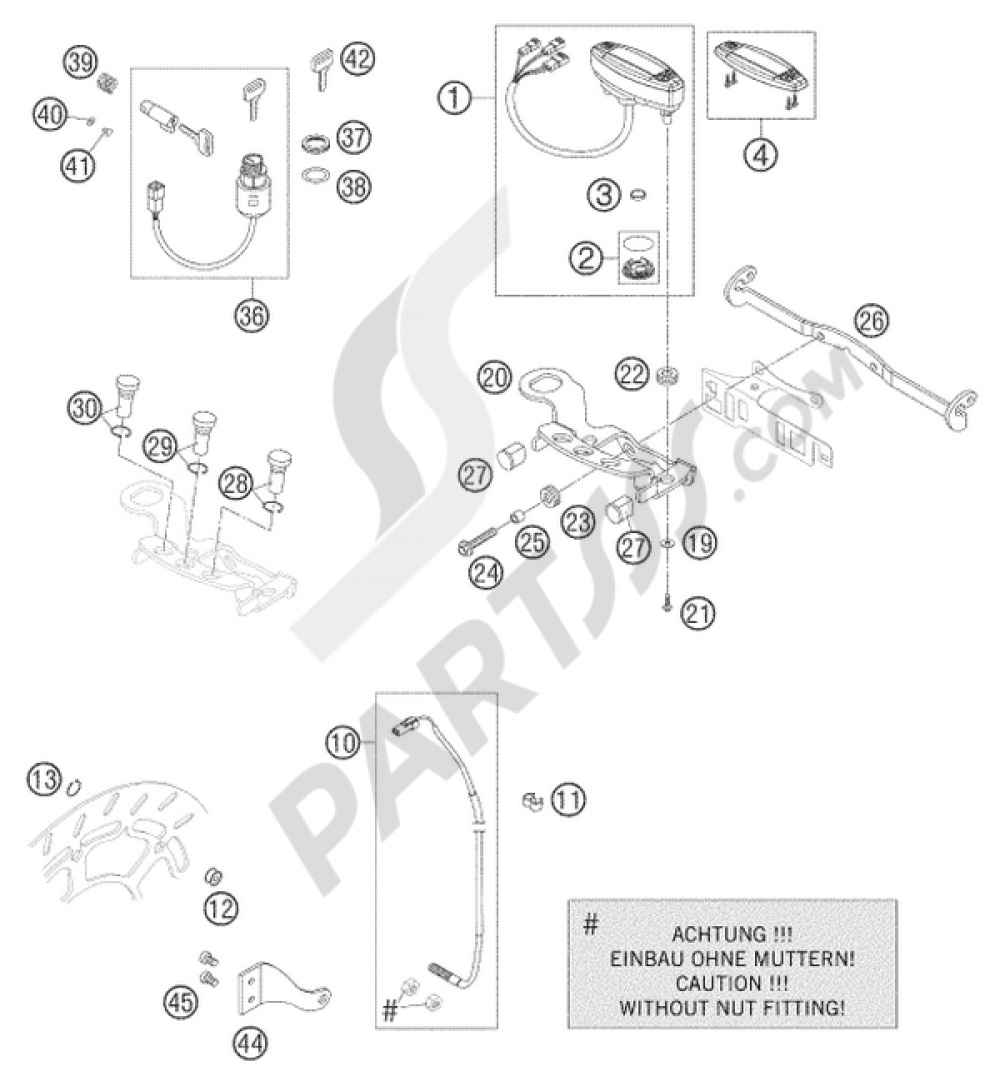 Speedometer Ktm 625 Smc 2006 Eu Wiring Diagram