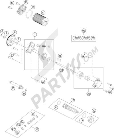 Ktm 390 Duke Bl Abs B D 2015 Eu Dissassembly Sheet Purchase
