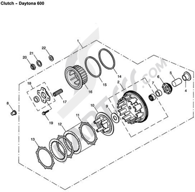 Triumph 600 Wiring Diagram