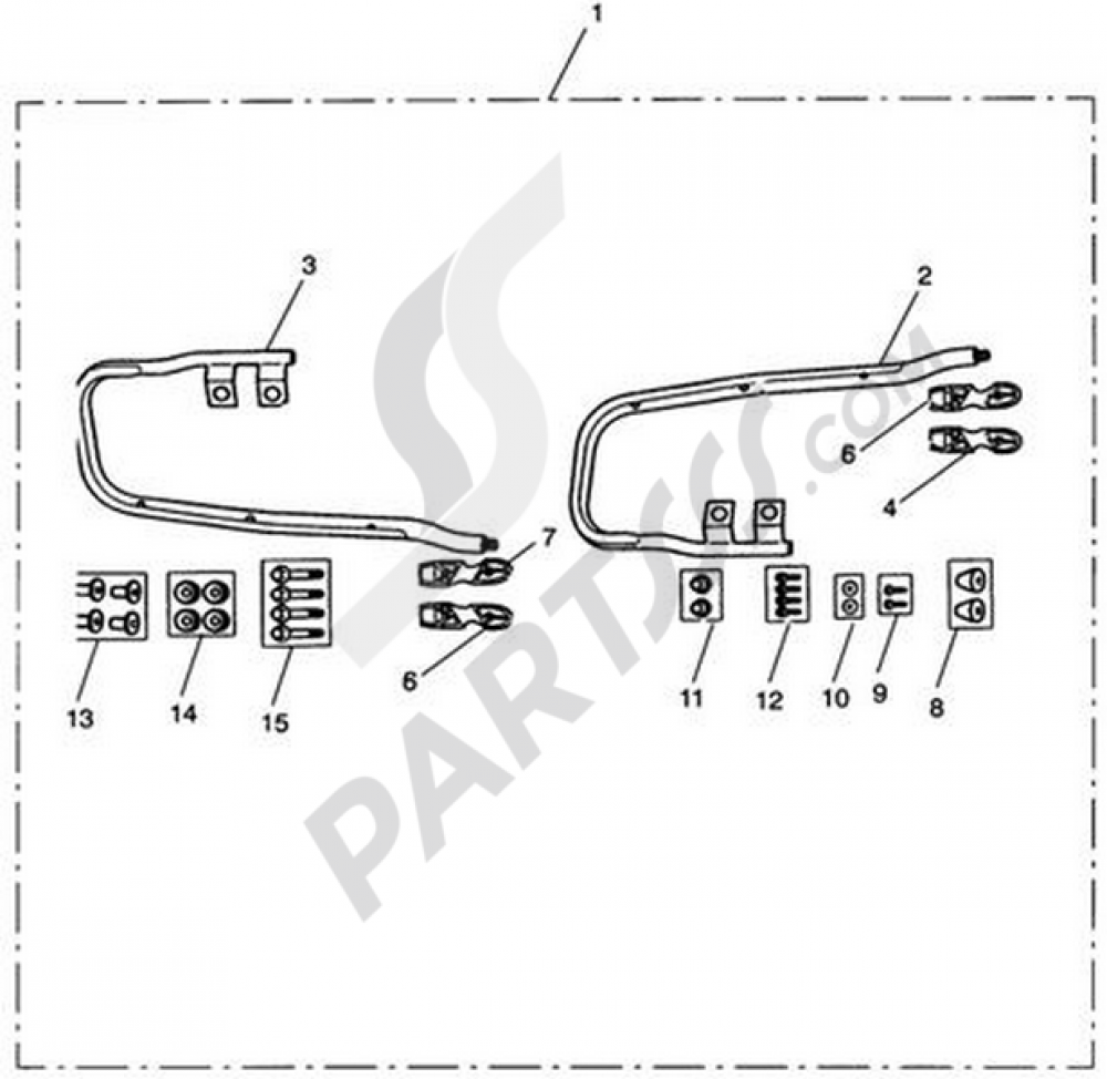 Guard Rails Pannier Kit Triumph Rocket Iii Touring Wiring Diagram