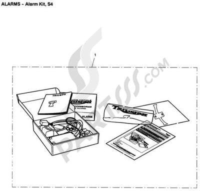 Triumph ROCKET III CLASSIC & ROADSTER Alarm Kit, Type T, S4