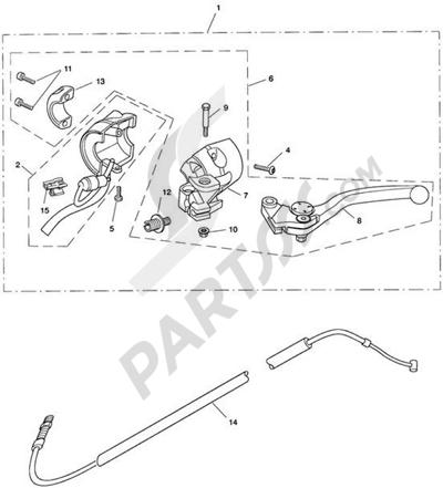 Triumph ROCKET III CLASSIC & ROADSTER Clutch Controls