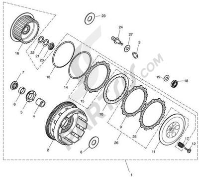 Triumph ROCKET III CLASSIC & ROADSTER Clutch