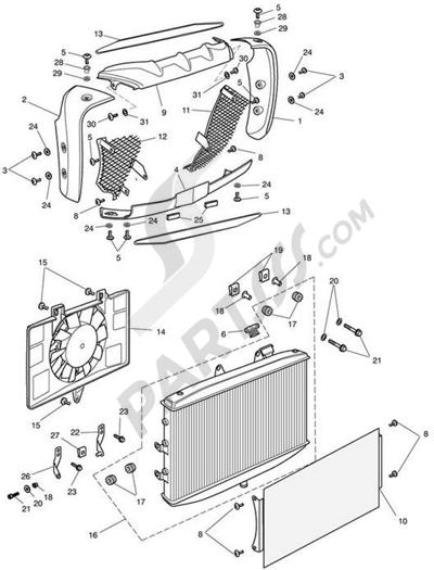 Triumph ROCKET III CLASSIC & ROADSTER Cooling System - Contu0027d....
