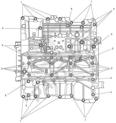 Triumph ROCKET III CLASSIC & ROADSTER Crankcase Lower