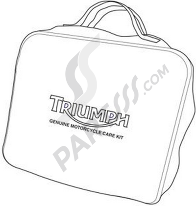 Triumph ROCKET III CLASSIC & ROADSTER Motorcycle Care Kit, Europe