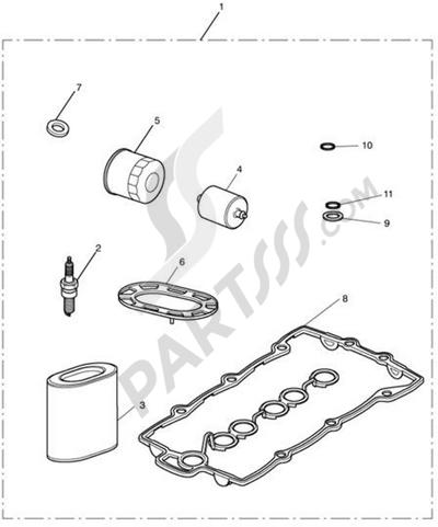Triumph ROCKET III CLASSIC & ROADSTER Service Kits