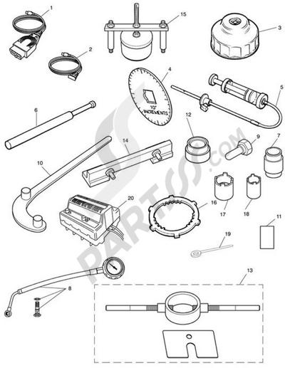 Triumph ROCKET III CLASSIC & ROADSTER Service Tools