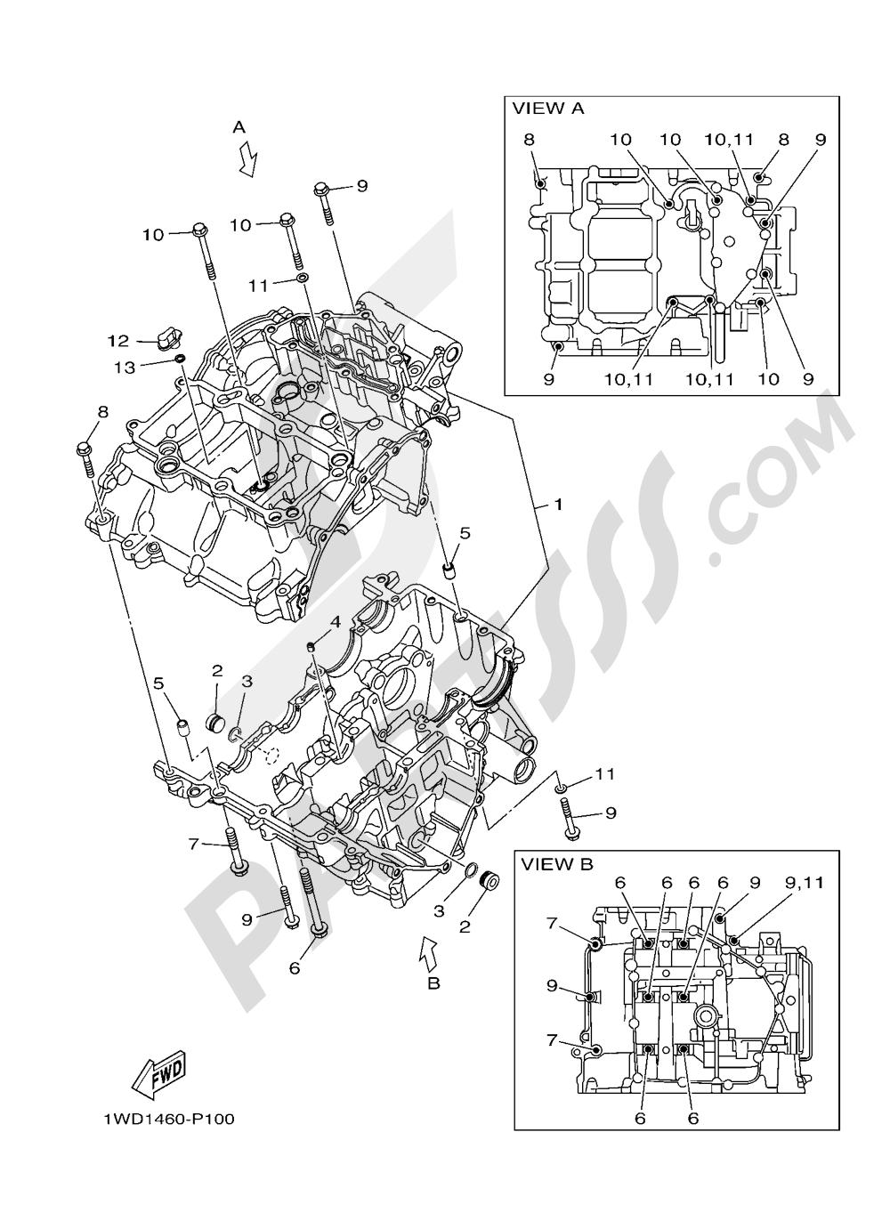 CARTER Yamaha MT-03 ABS 300CC. 2016