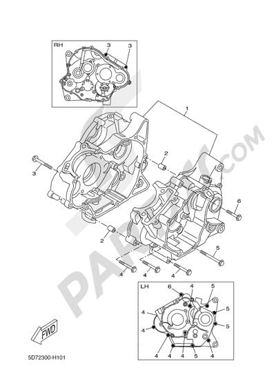 Yamaha MT-125 ABS 2016 CARTER