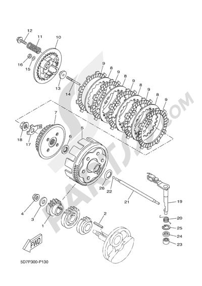 Yamaha MT-125 ABS 2016 CLUTCH
