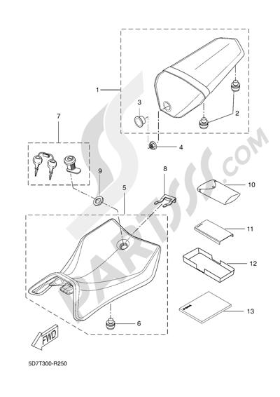Yamaha MT-125 ABS 2016 SEAT