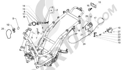 Piaggio Beverly 250 RST 1998-2005 Cerraduras