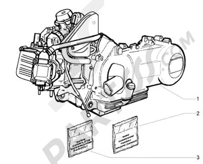 Piaggio Beverly 250 RST 1998-2005 Motor