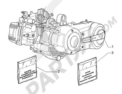 Piaggio Beverly 500 1998-2005 Motor