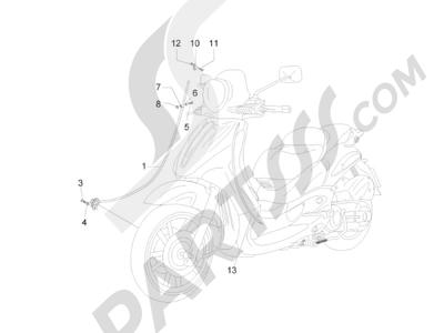 Piaggio BV 300 ie Tourer (USA) 2009-2011 Transmisiónes
